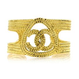 Chanel CC Braided Cuff