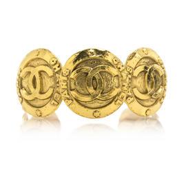 Chanel Gold Coin Cuff