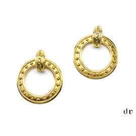 Chanel Gold Hoop Earrings