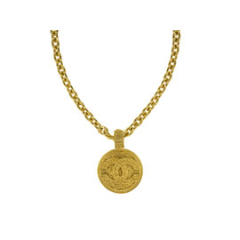 Chanel Filigree Pendant Necklace