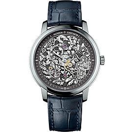 Vacheron Constantin Metiers D Art 1100A/000P-B026 950 Platinum & Leather 39mm Mens Watch