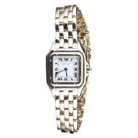 Cartier Panthere 18K Yellow Gold Timepiece Bracelet Watch