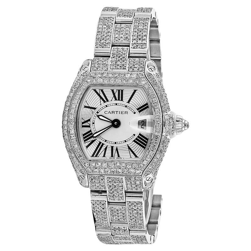 "Image of ""Cartier Roadster W62016V3 Stainless Steel Watch"""