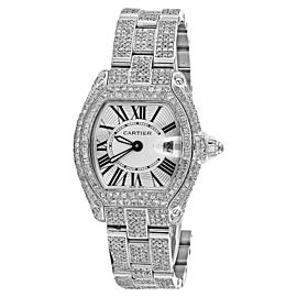 Cartier Roadster W62016V3 Stainless Steel Watch