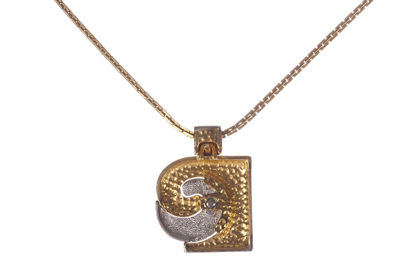 "Image of ""Pierre Cardin Pendant Necklace"""