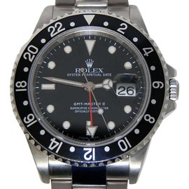 Rolex GMT-MASTER II 16710 Stainless Steel Mens Watch