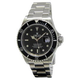 Rolex Submariner 16610 Stainless Steel Black Dial/Bezel Automatic Mens Watch