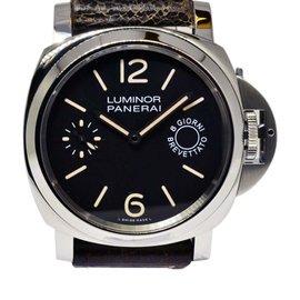 Panerai Luminor 8 Giorni Brevettato Pam 590 Stainless Steel 44mm Watch