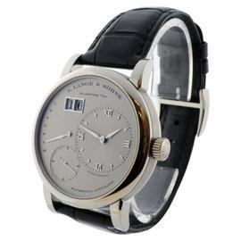 A. Lange & Sohne 320.025 Lange 1 Daymatic Platinum Watch