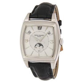 Patek Philippe Gondolo 5135G 18K White Gold Automatic Mens Watch