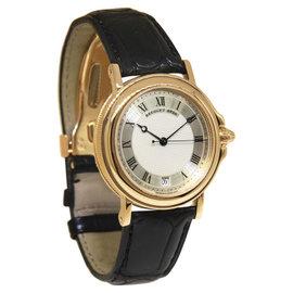 Breguet Horloger De La Marine 18K Yellow Gold Date 35.5mm Watch