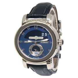 Ulysse Nardin 160th Anniversary 1600-100 18K White Gold Mens Watch