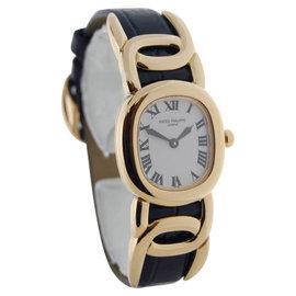 Patek Philippe Ellipse 4830 18K Yellow Gold Womens Wrist Watch