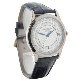 Patek Philippe 5296-001 18K White Gold Mens Wrist Watch