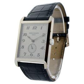 Patek Philippe 5109G Gondolo 5109 18K White Gold Mens Watch