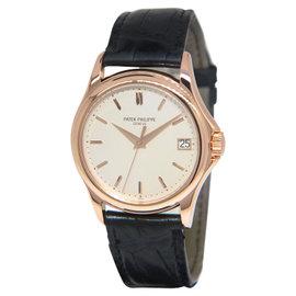 Patek Philippe Calatrava 5127R 18K Rose Gold Mens Watch