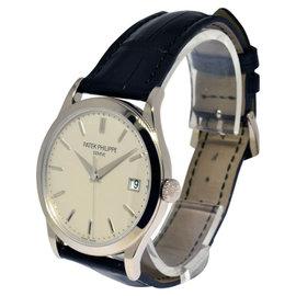 Patek Philippe Calatrava 5296G 18K White Gold Mens Watch