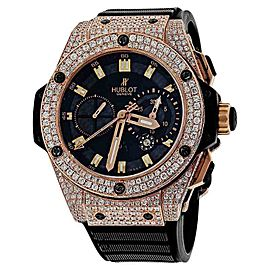 Hublot King Power Rose Gold Automatic Mens Watch 48mm