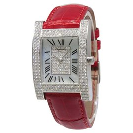 Chopard Your Hour 17/3451 18K White Gold Diamond MOP Mechanical Women Watch