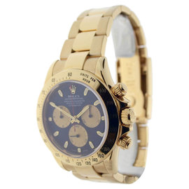 Rolex Daytona 116528 18K Yellow Gold Chronograph Paul Newman Automatic Mens Watch