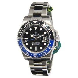 Rolex GMT-Master II 116710BLNR Black & Blue Ceramic Steel Mens Watch