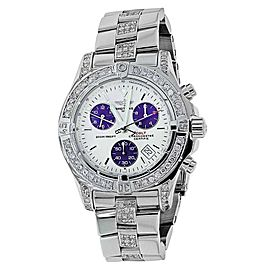 Breitling Colt Chronograph A73380 Stainless Steel 40mm Watch