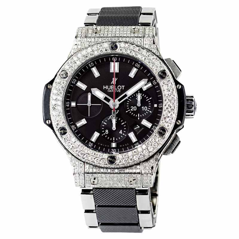 "Image of ""Hublot Big Bang 301.sb.131.sb Stainless Steel Ceramic and Kevlar Mens"""