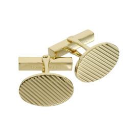 Tiffany & Co. 14K Yellow Gold Design Cufflinks