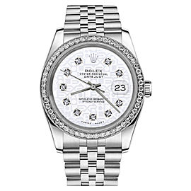 Rolex Datejust Stainless Steel With White Color Jubilee Dial 26mm Womens Watch