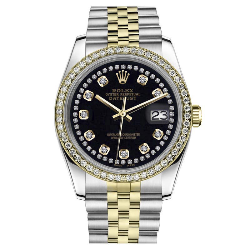 "Image of ""Rolex Datejust 18K Yellow & Stainless Steel Two Tone Classic Jubilee"""