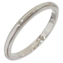 Tiffany & Co. PT950 Platinum Milgrain Wedding Ring Size 7.5
