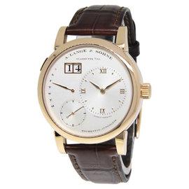 A. Lange & Sohne Lange 1 Daymatic 320.032 18K Rose Gold 39.5mm Watch