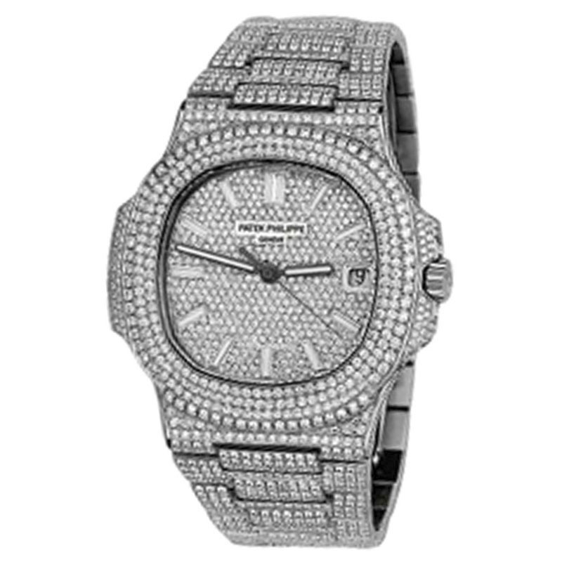 "Image of ""Patek Philippe Nautilus Stainless Steel 40mm Mens Watch"""