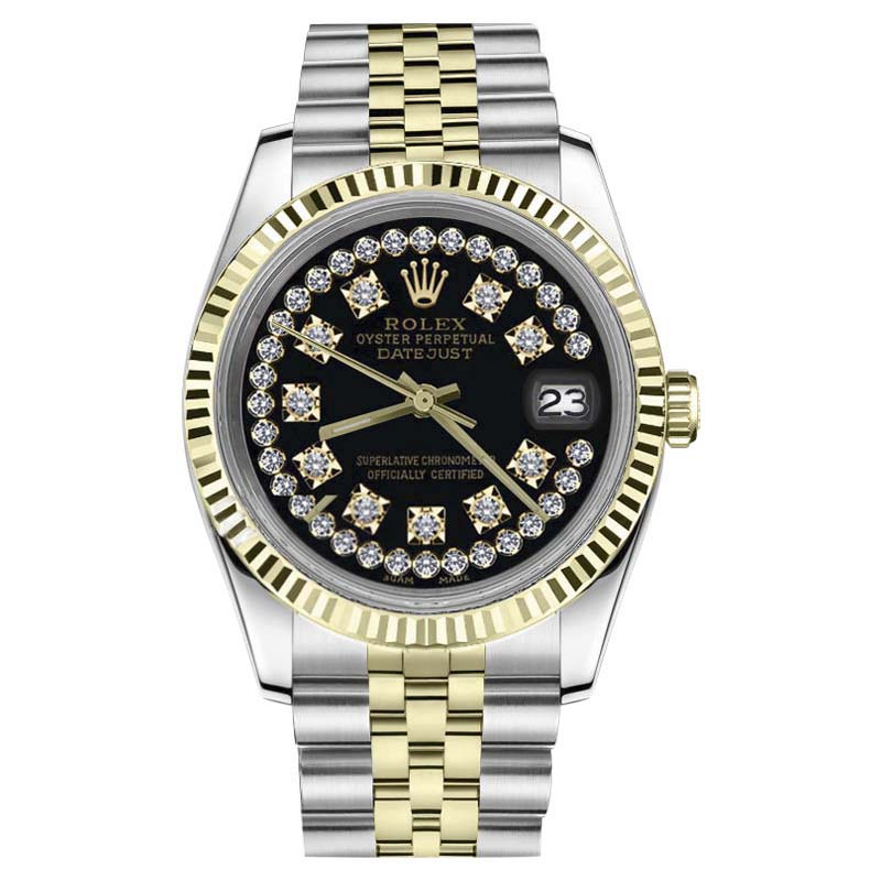 """Image of """"Rolex Datejust 18K Yellow Gold / Stainless Steel 31mm Womens Watch"""""""