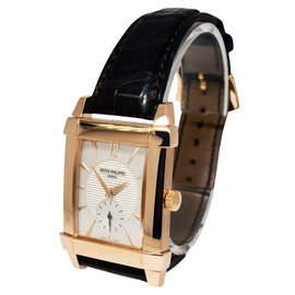 Patek Philippe Gondolo 5111R 18K Rose Gold & Leather Manual 32mm Mens Watch