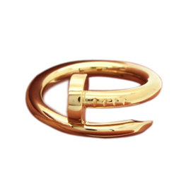 Cartier 18K Yellow Gold Juste un Clou Ring Size 4