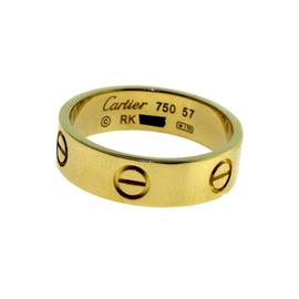 Cartier Love 18K Yellow Gold Ring Size 8