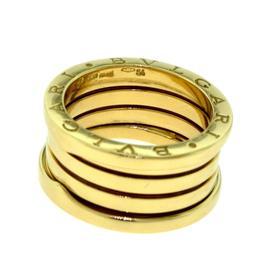 Bulgari B.zero 1 18K Yellow Gold 4 Band Ring