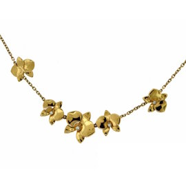 Cartier Caresse D'orchidees Par Cartier 18K Rose Gold Necklace