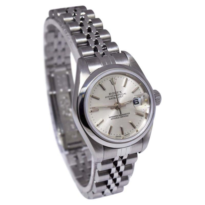 """Image of """"Rolex Datejust 69240 Stainless Steel with Silver Dial Automatic 26mm"""""""