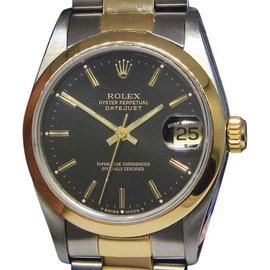 Rolex Datejust 68243 Stainless Steel & 18K Yellow Gold Automatic Vintage 31mm Womens Watch