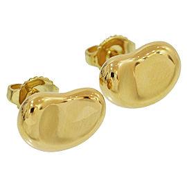 Tiffany & Co. Elsa Peretti 18K Yellow Gold Bean Earrings