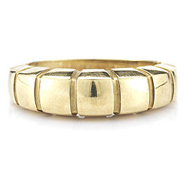 Van Cleef & Arpels 18K Yellow Gold Structured Band Ring