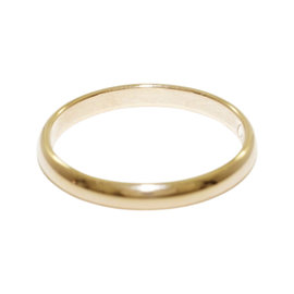 Cartier 18K Pink Gold Ring Size 5.75