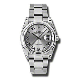 Rolex Datejust 116200 RRO Automatic Stainless Steel Men's Watch Watch