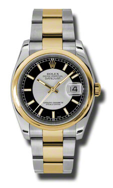 "Image of ""Datejust Silver Dial Automatic Stainless Steel and 18K Yellow Gold"""