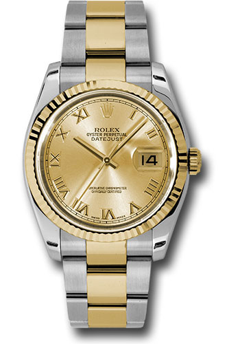 """Image of """"Rolex Datejust 116233 chro Stainless Steel / 18K Yellow Gold with"""""""
