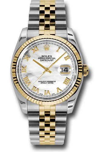 "Image of ""Rolex Datejust 116233Mrj Stainless Steel & 18K Yellow Gold with Mother"""