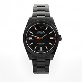 Rolex Milgauss PVD with Black Dial 40mm Watch