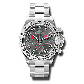 Rolex Daytona White Gold Grey Dial 40mm Watch